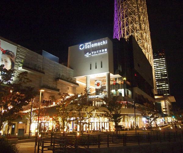 東京スカイツリー クリスマスライトアップ