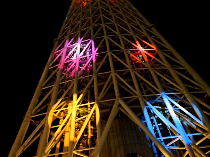 東京スカイツリー プロジェクションマッピング2014