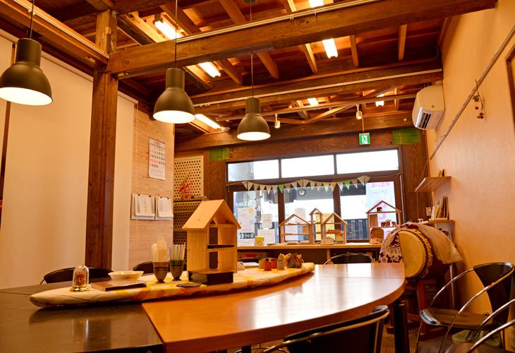 ふじのきさん家、ふじのきカフェ