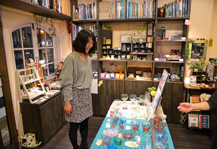 ちいさな硝子の本の博物館