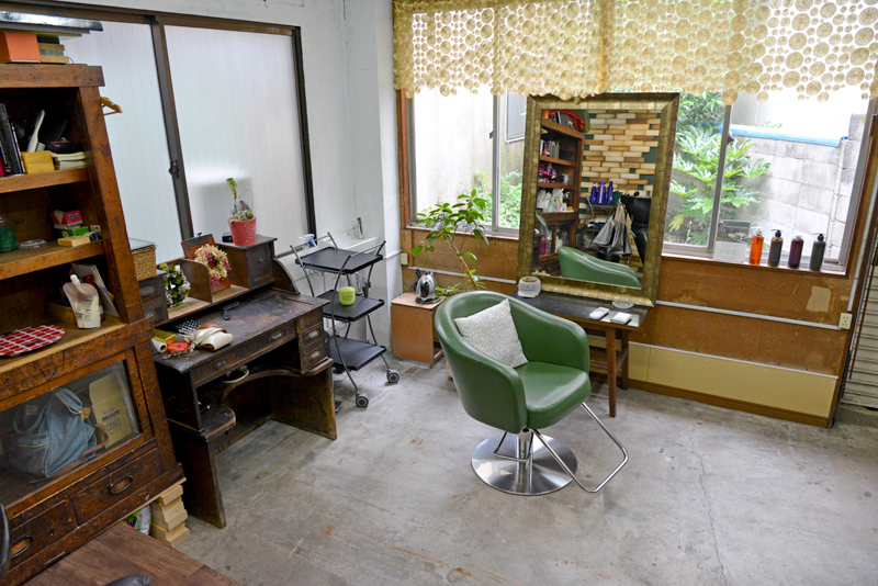 Ensemble hairsalon