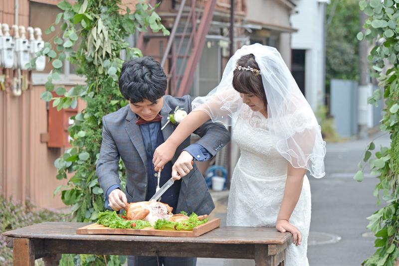 鳩の街通り商店街結婚式
